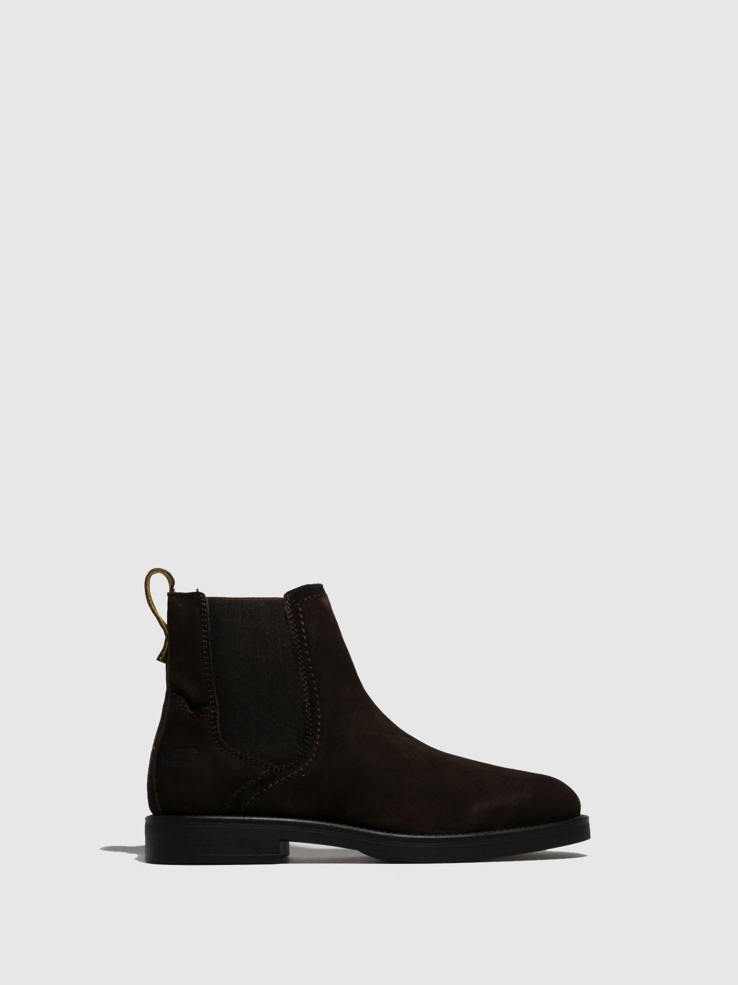 Camel Active Brown Suede Chelsea Boots