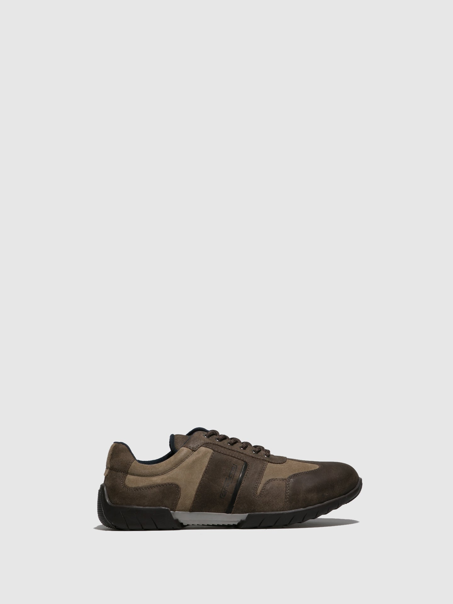 Camel Active Taupe Lace-up Shoes