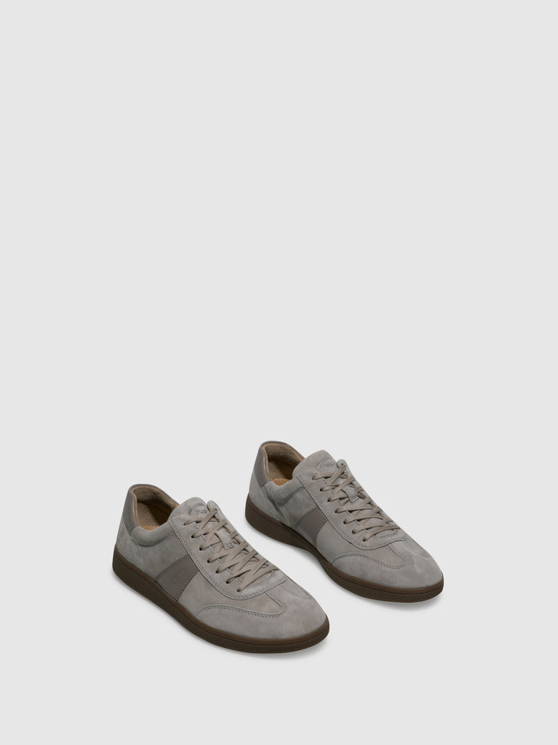 Camel Active Gray Lace-up Trainers