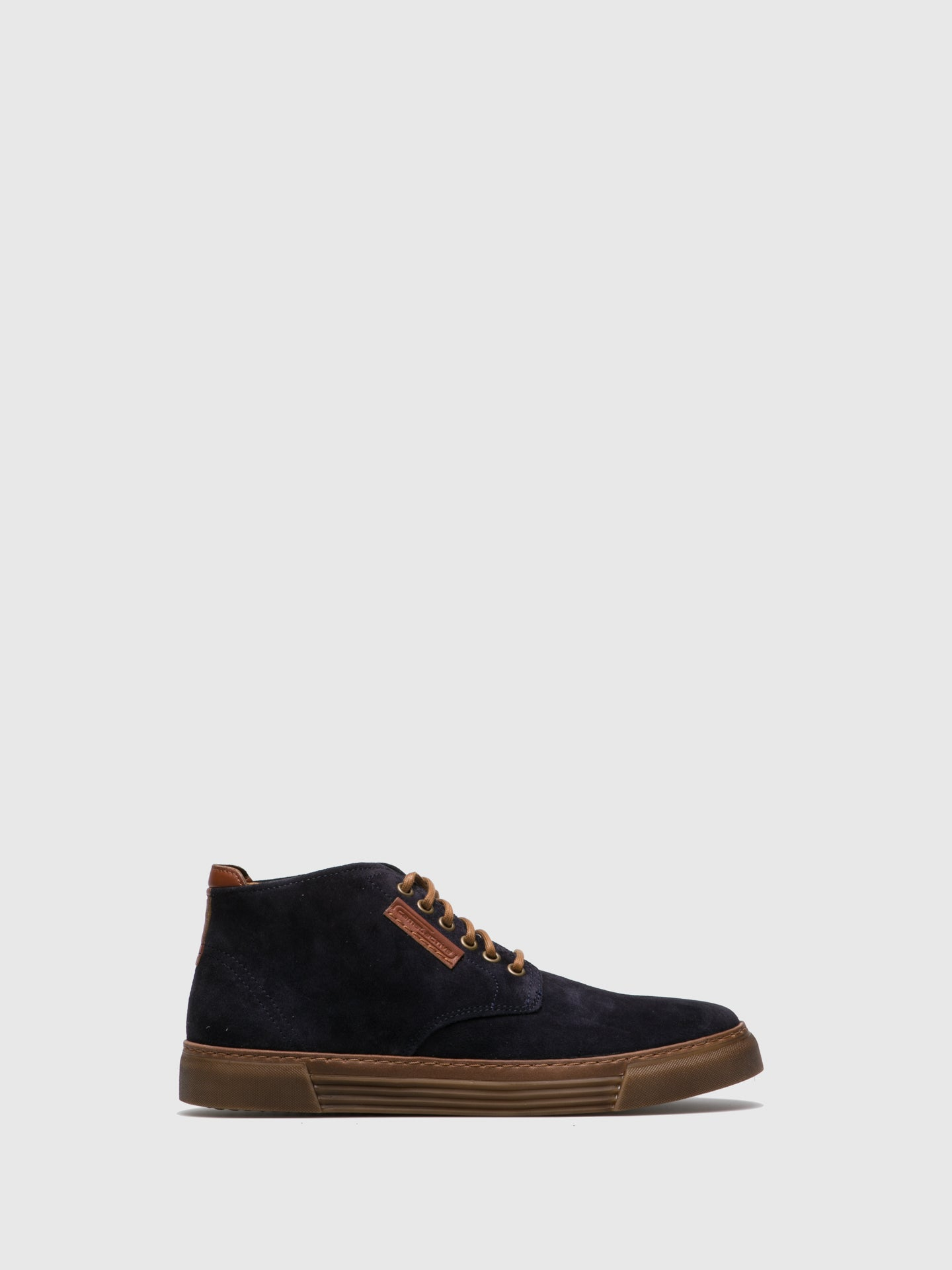 Camel Active Navy Lace-up Ankle Boots