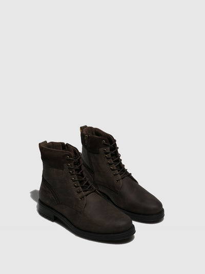 Camel Active Brown Lace-up Boots