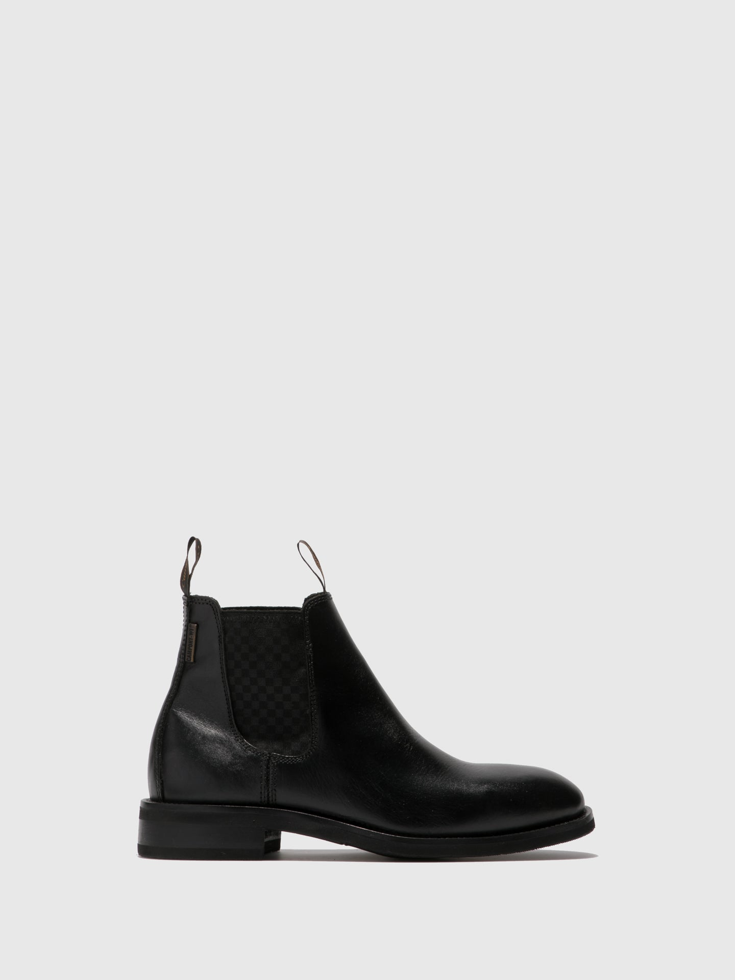 Camport Black Chelsea Ankle Boots