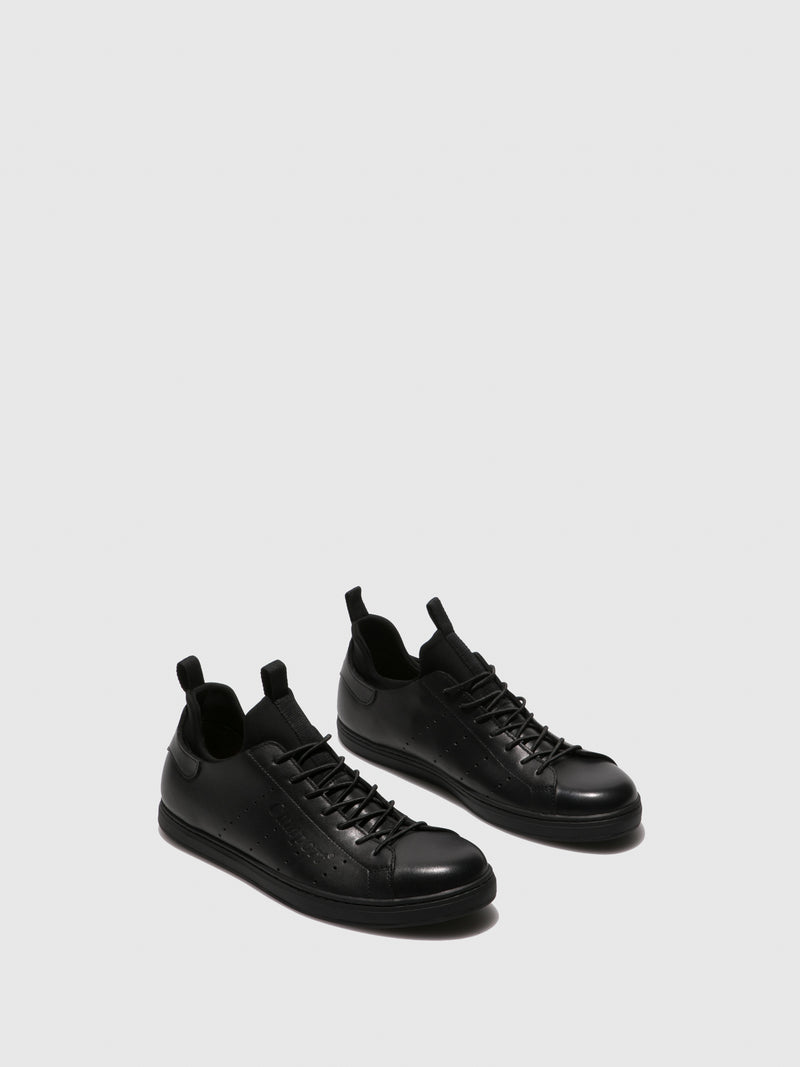 Camport Black Slip-on Trainers