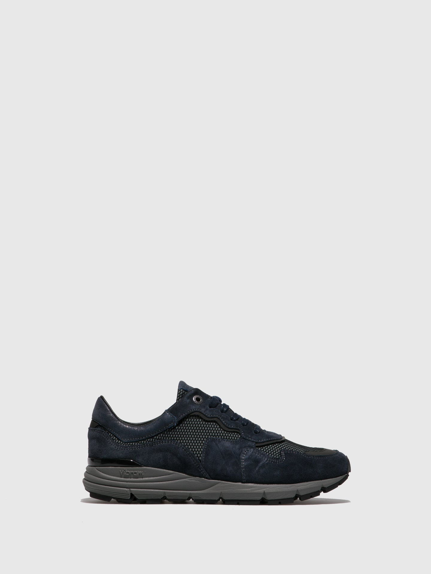 Camport Navy Lace-up Trainers