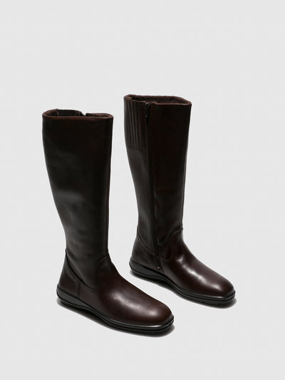 Camport Brown Knee-High Boots