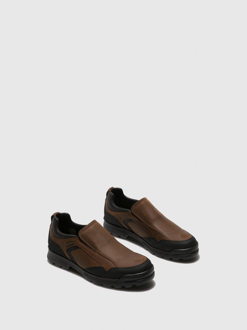 Camport Chocolate Elasticated Shoes