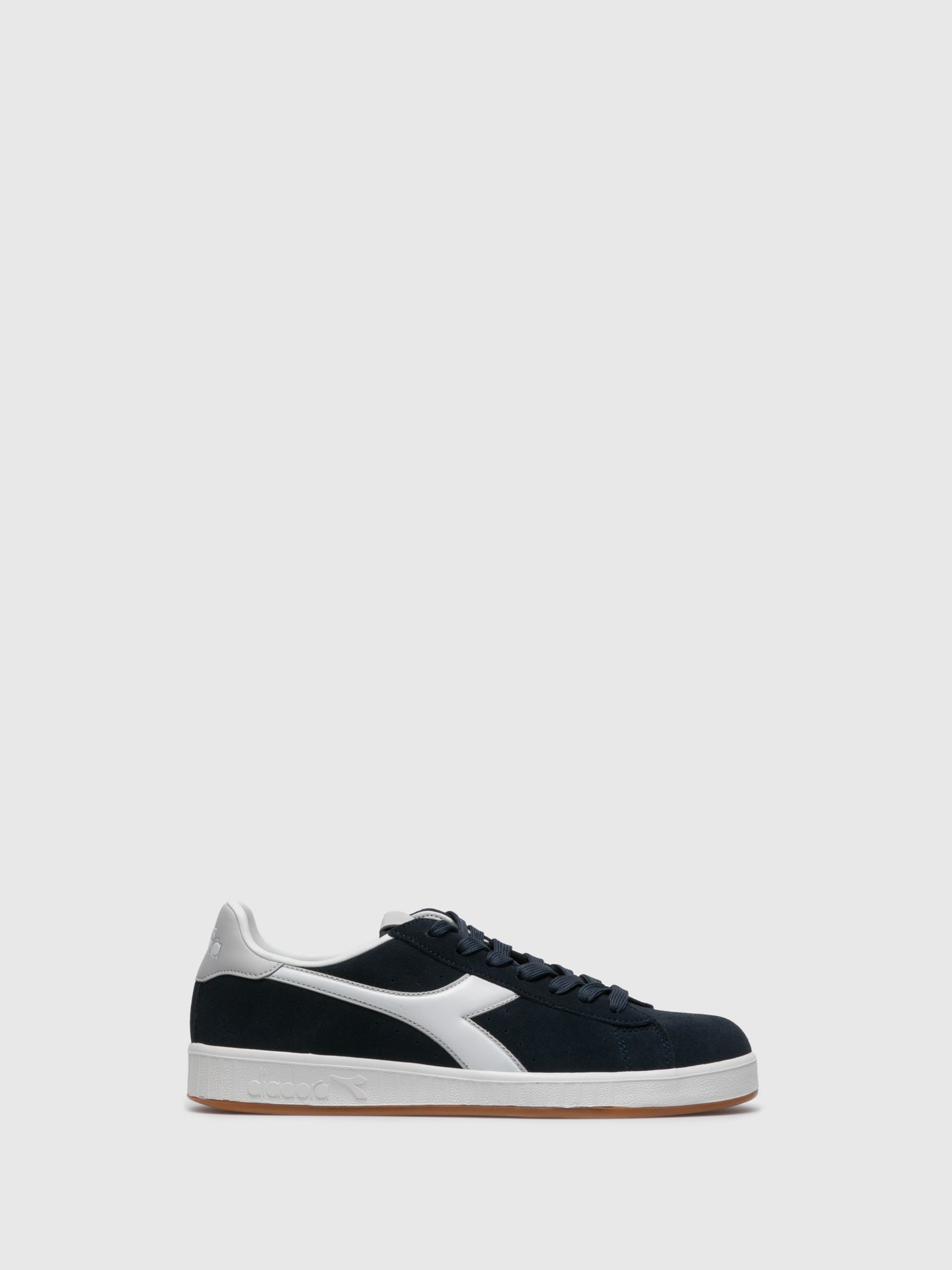 Diadora Navy Lace-up Trainers
