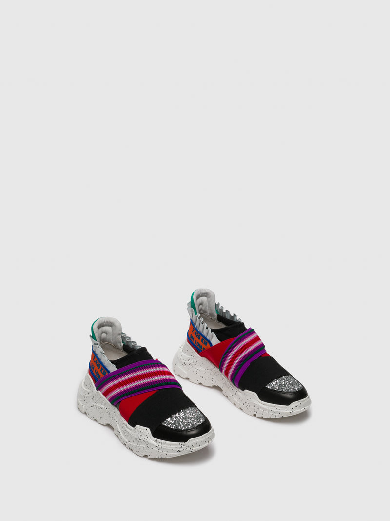 Multicolor Slip-on Trainers