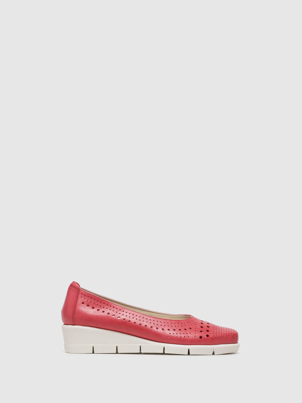 The Flexx Red Wedge Shoes