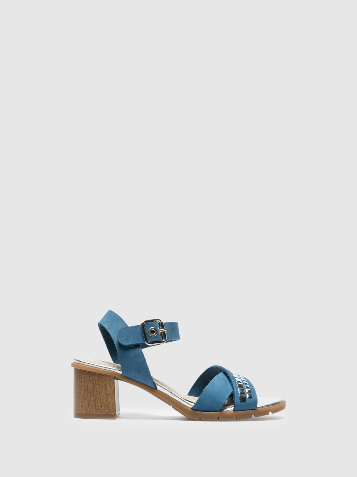The Flexx Blue Sling-Back Sandals