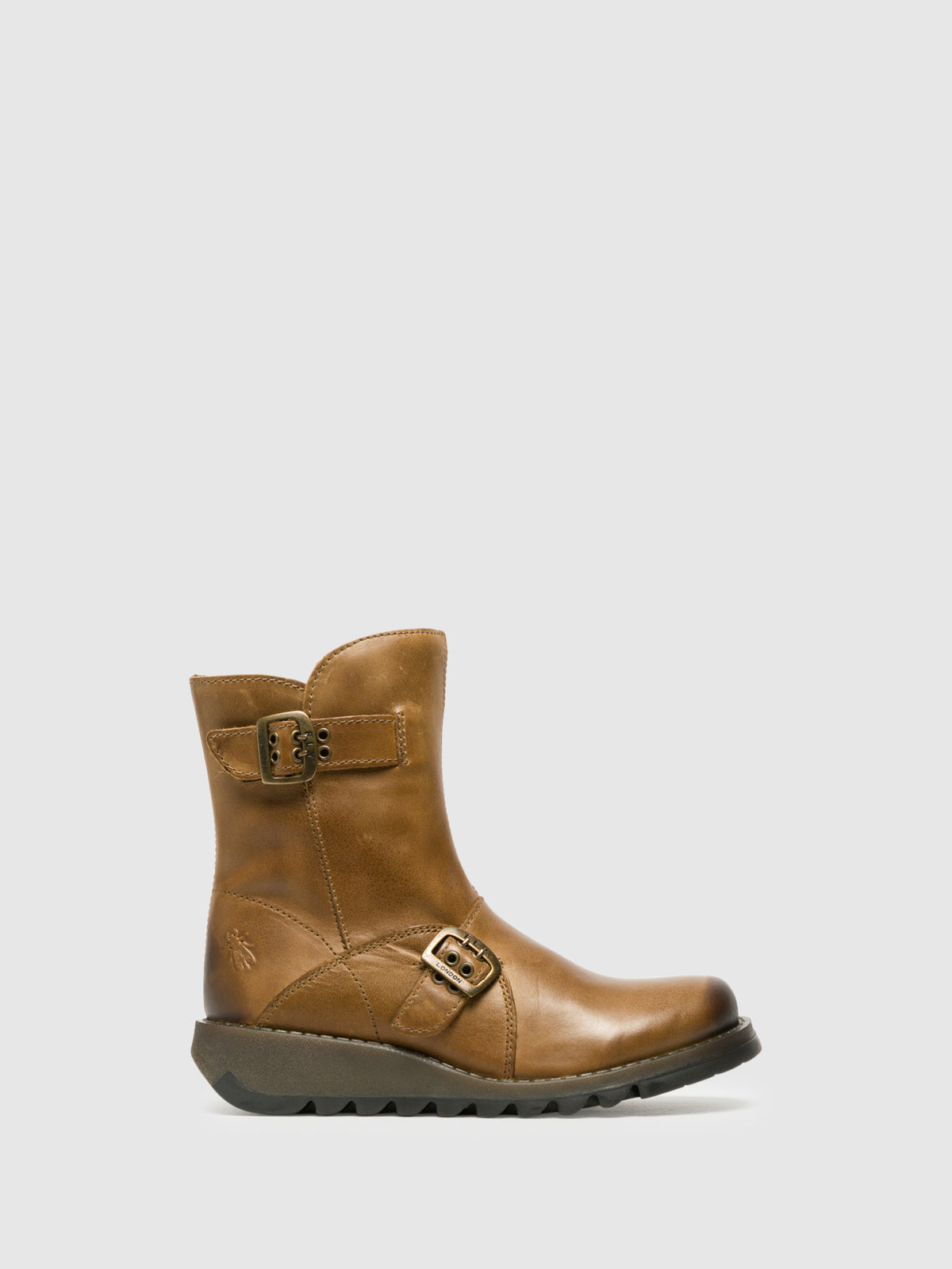 Fly London Peru Zip Up Ankle Boots