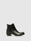 Fly London Black Chelsea Ankle Boots
