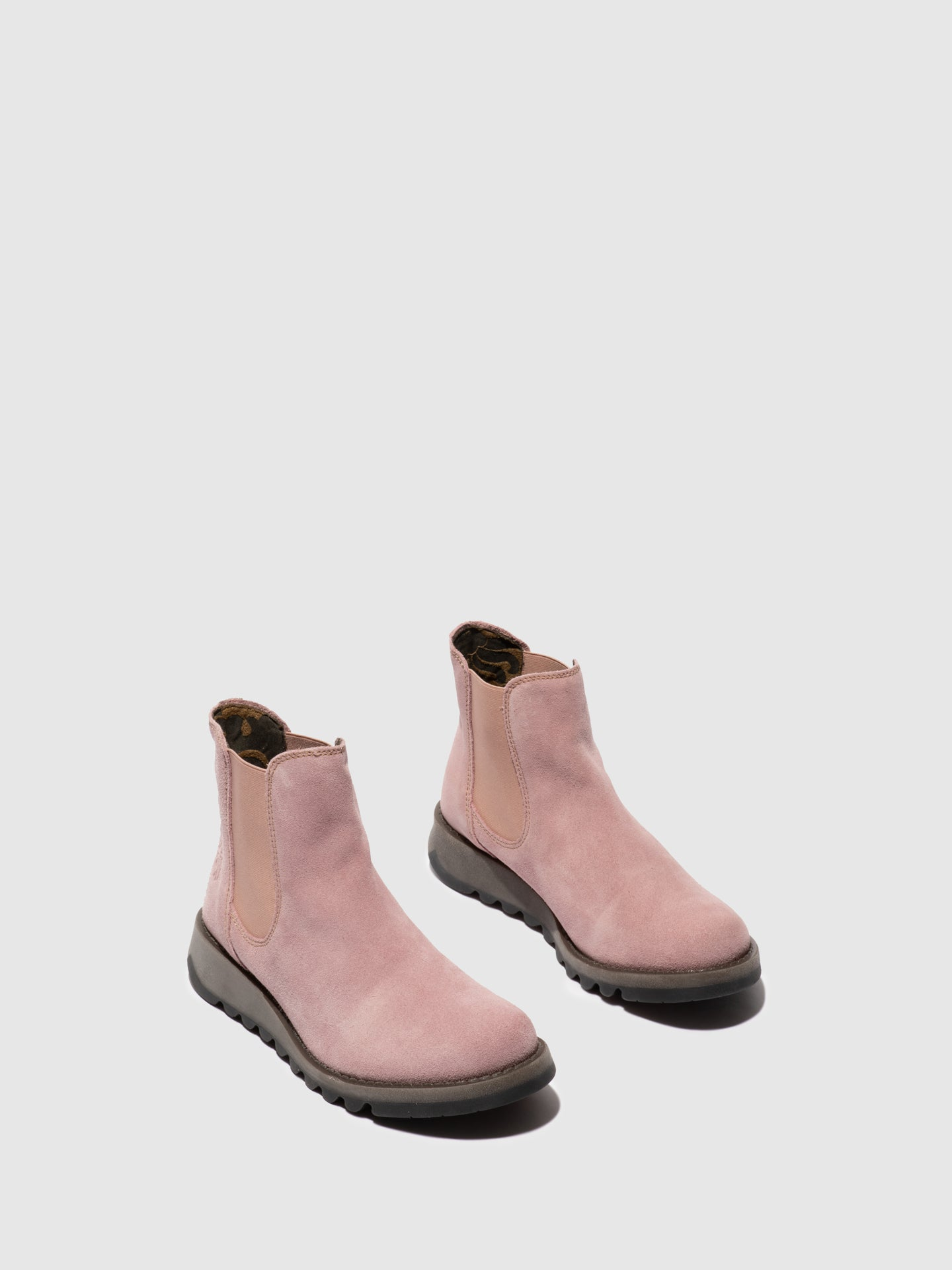 Fly London Chelsea Ankle Boots SALV PINK