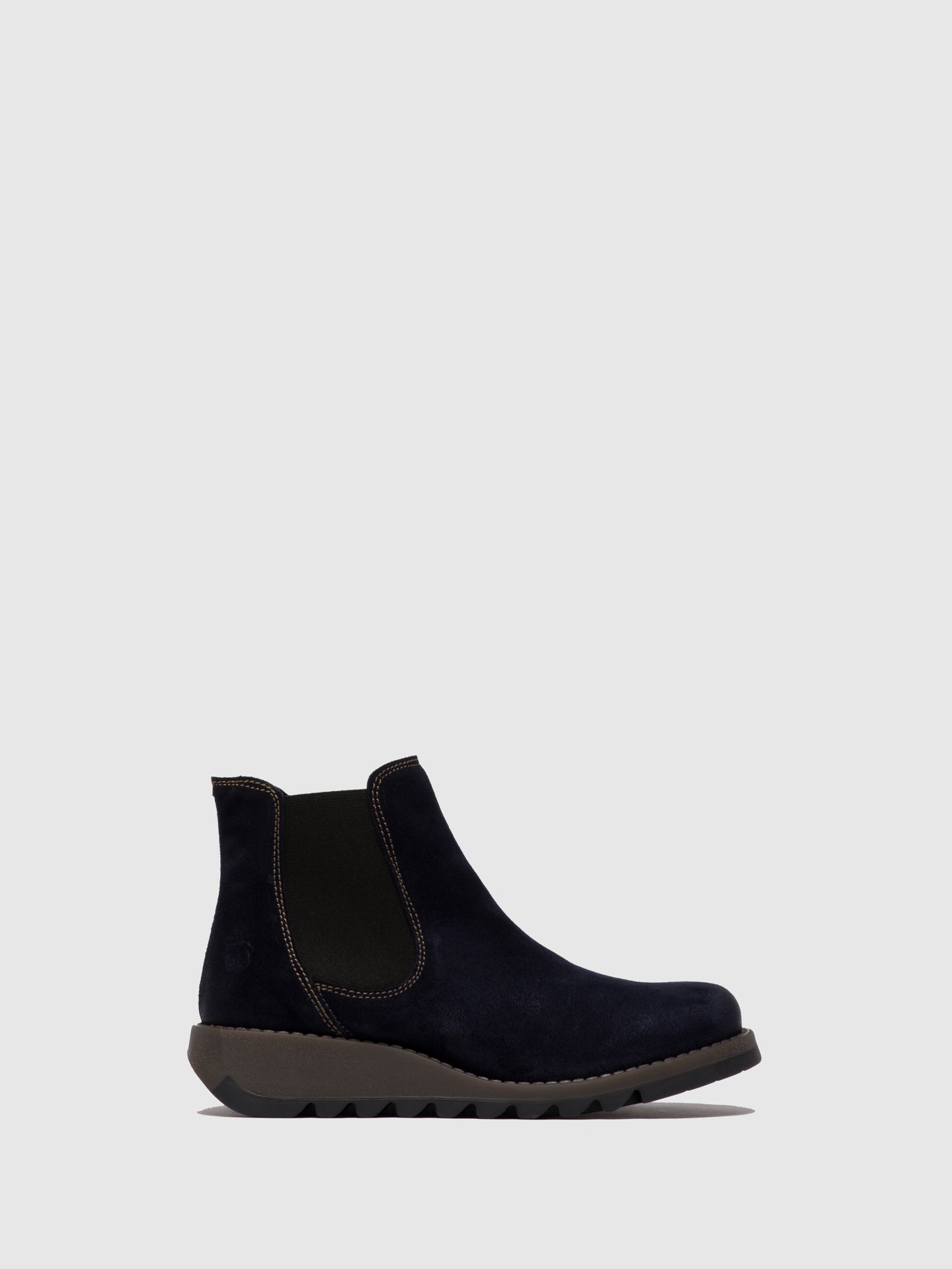 Fly London Chelsea Ankle Boots SALV OILSUEDE NAVY