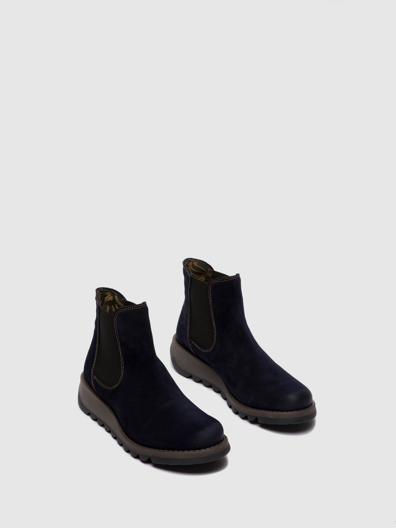 Chelsea Ankle Boots SALV OILSUEDE NAVY