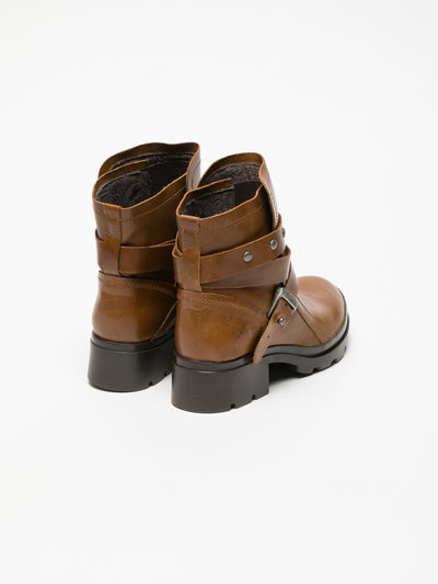 Fly London Peru Buckle Ankle Boots
