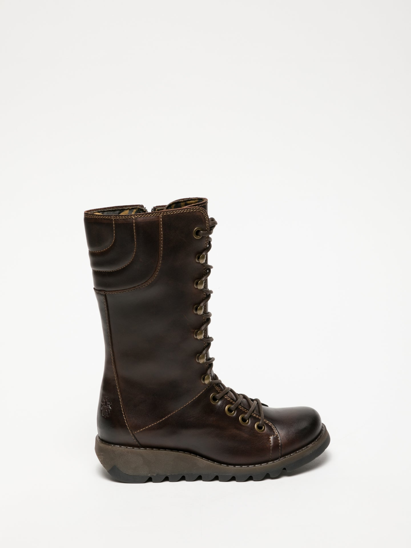 Fly London Brown Lace-up Boots