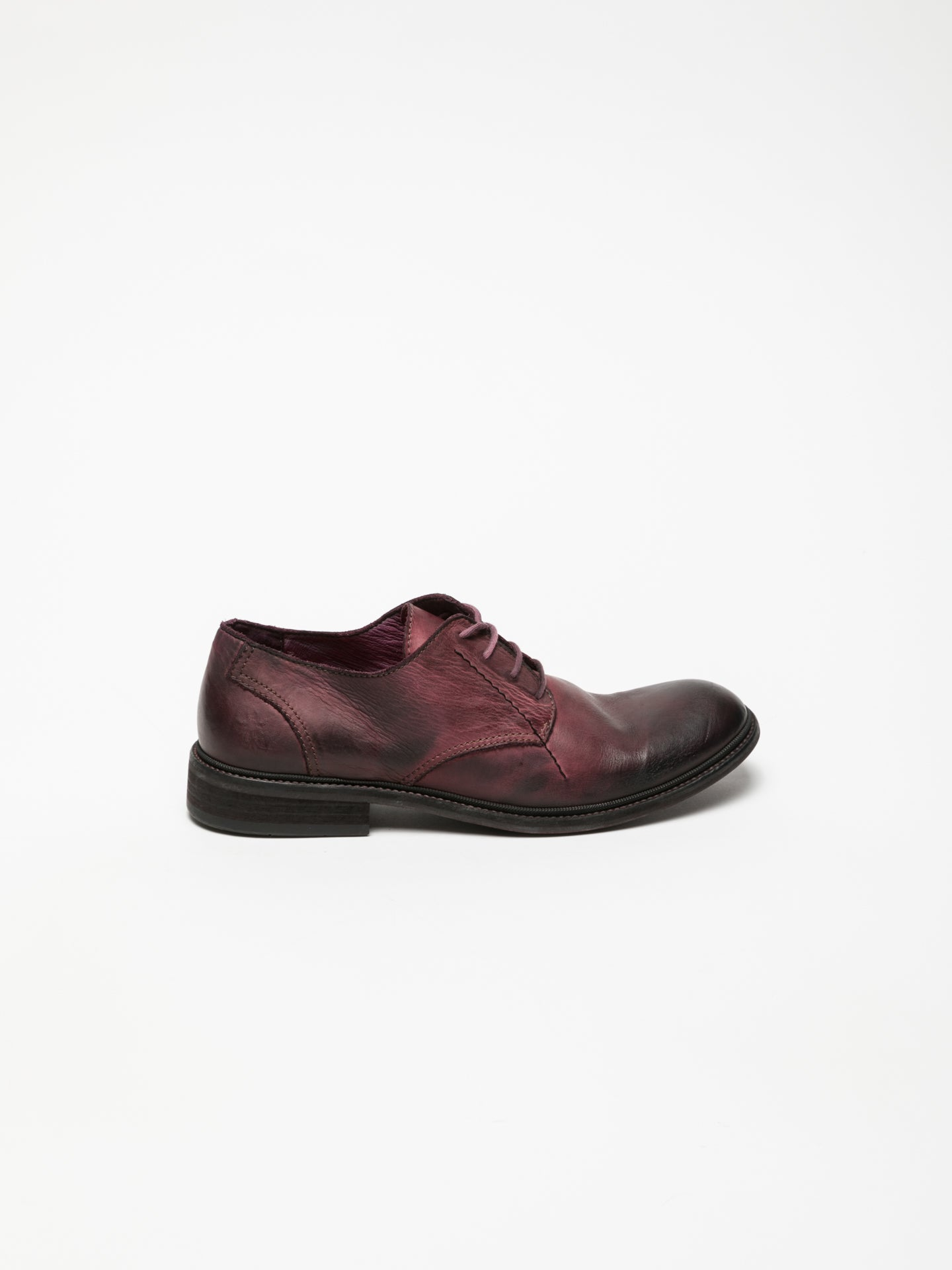 Fly London DarkRed Derby Shoes