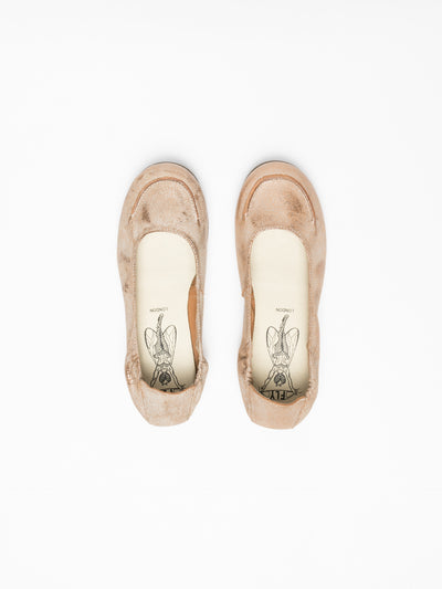 Fly London Peru Round Toe Ballerinas