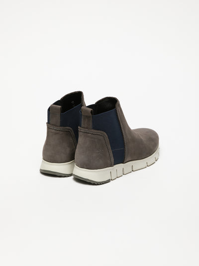 Fly London Gray Elasticated Ankle Boots