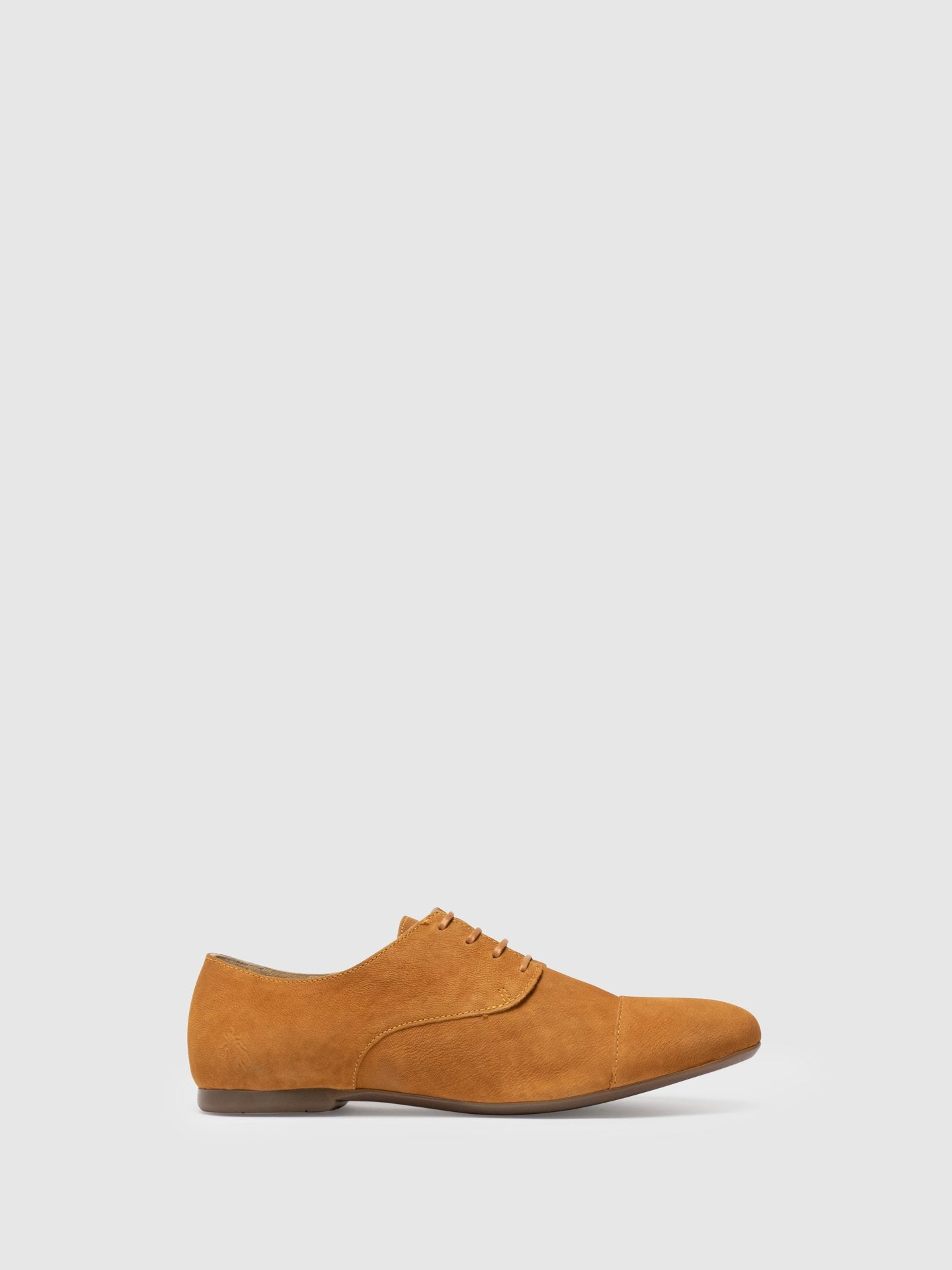 Fly London Yellow Derby Shoes