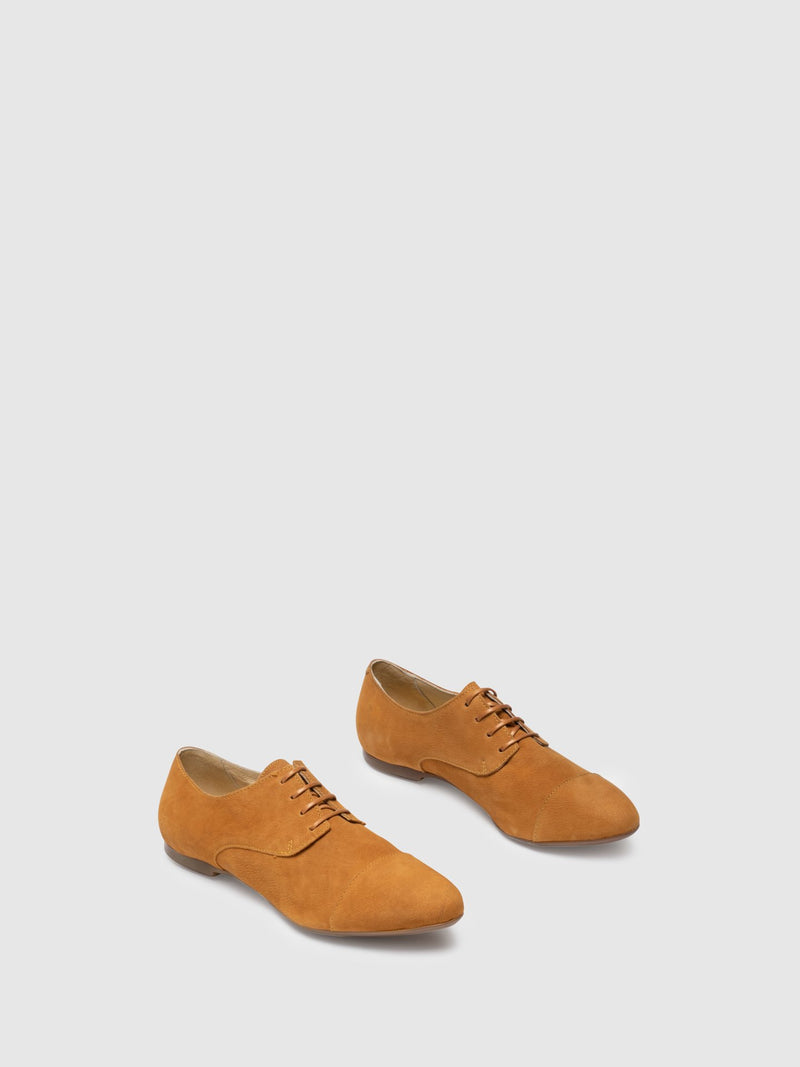 Yellow Derby Shoes