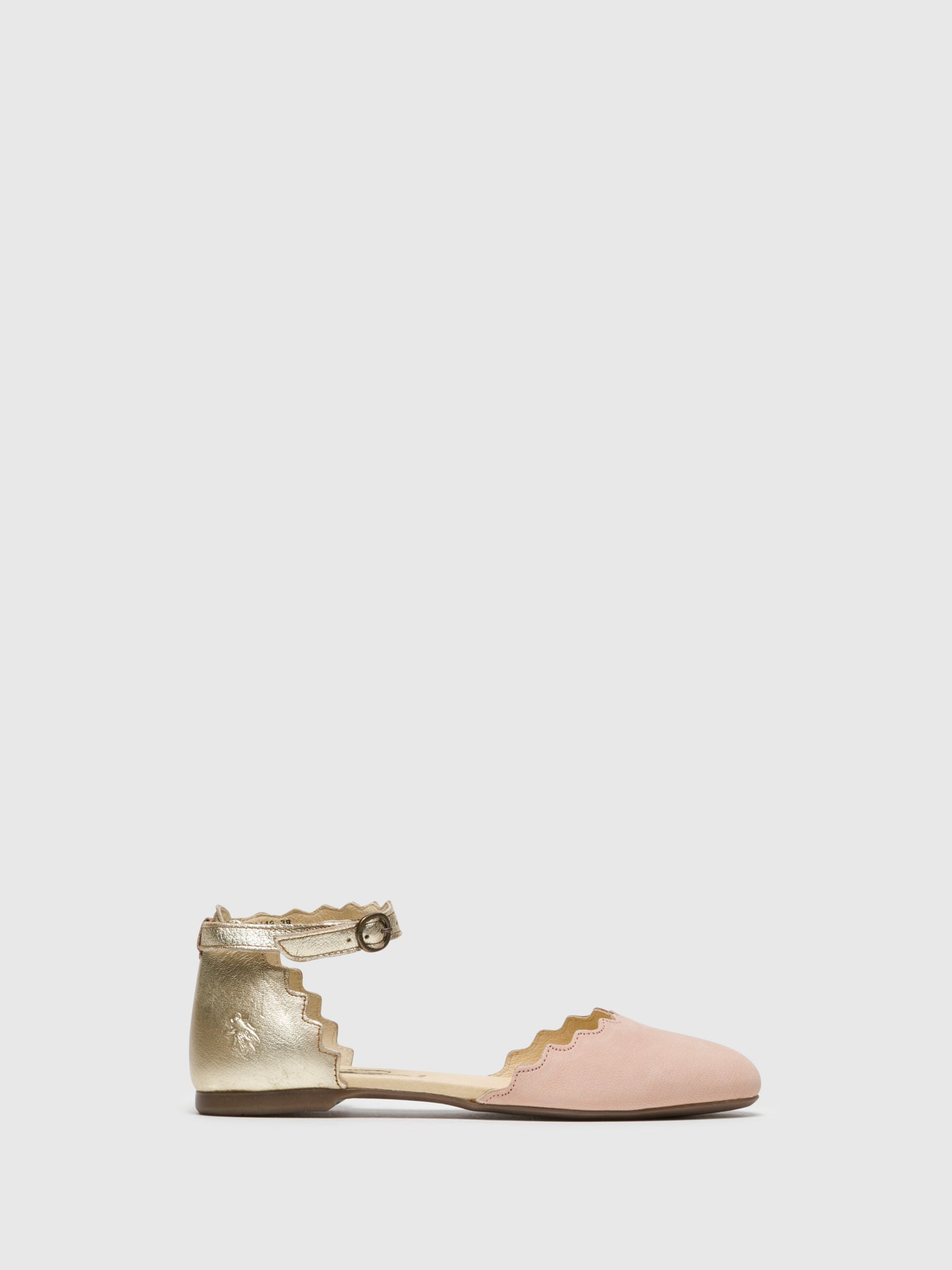 Fly London LightPink Buckle Sandals