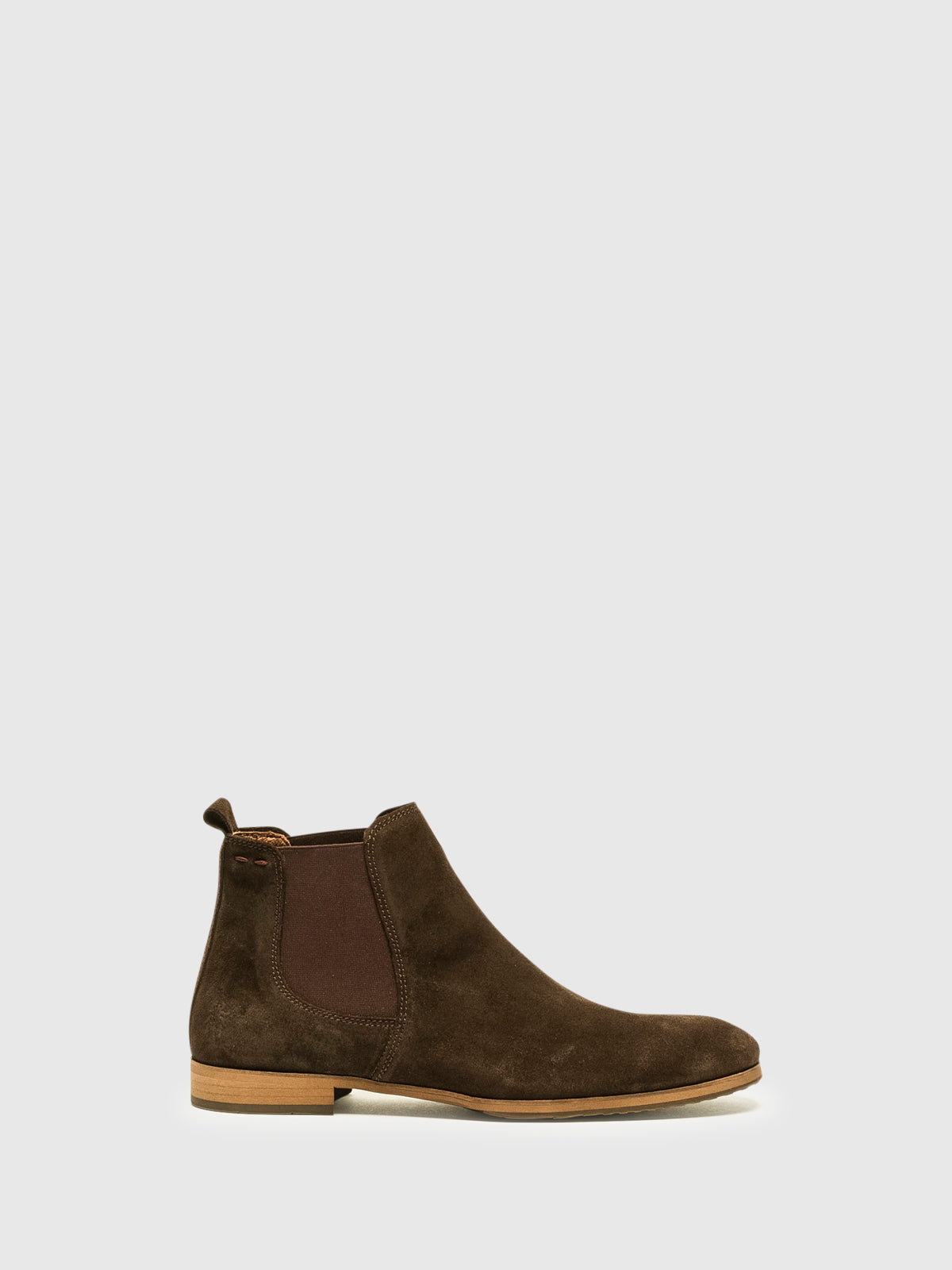 Fly London Brown Chelsea Ankle Boots