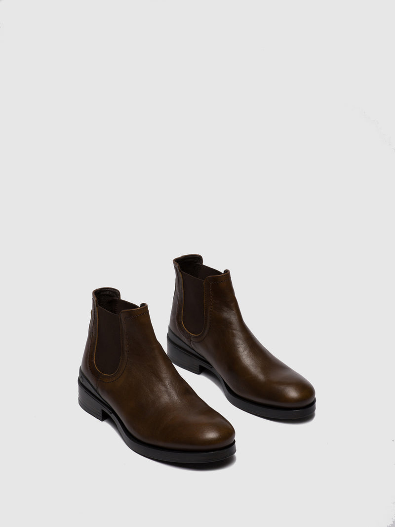 Chelsea Ankle Boots MEKO344FLY ESTIGMA(VEGETAL) BROWN