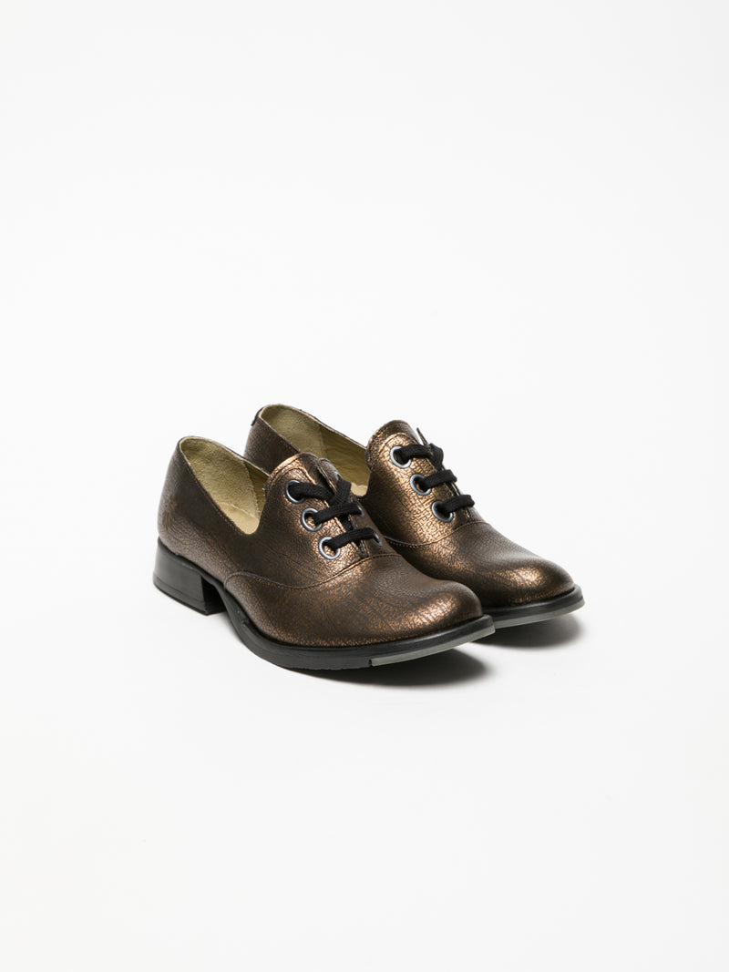 SandyBrown Oxford Shoes