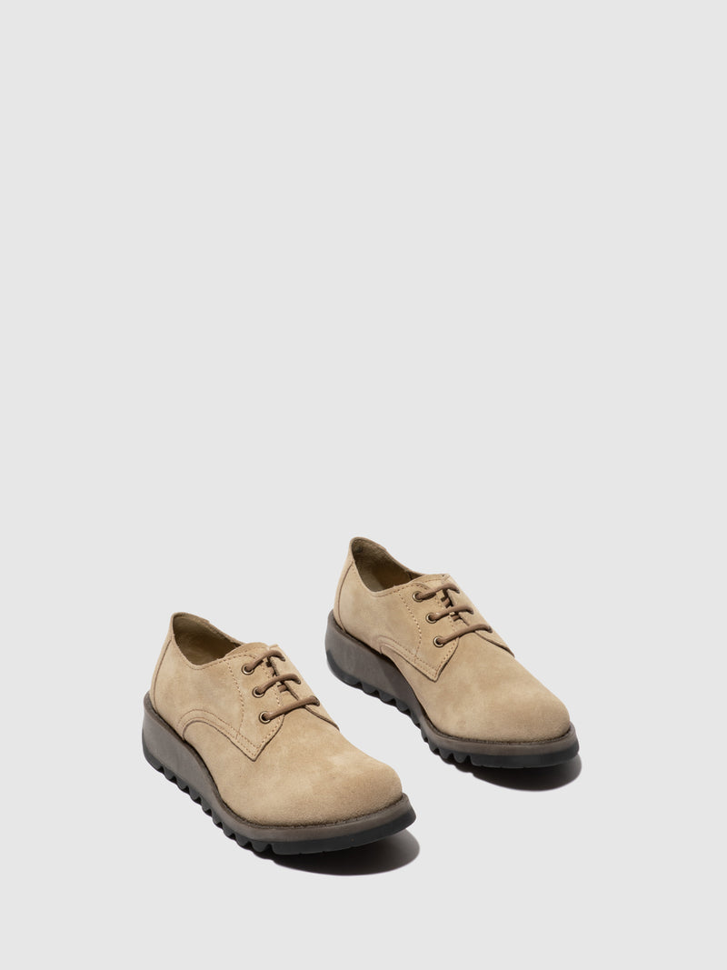 Fly London Oxford Shoes SIMB389FLY BISCUIT