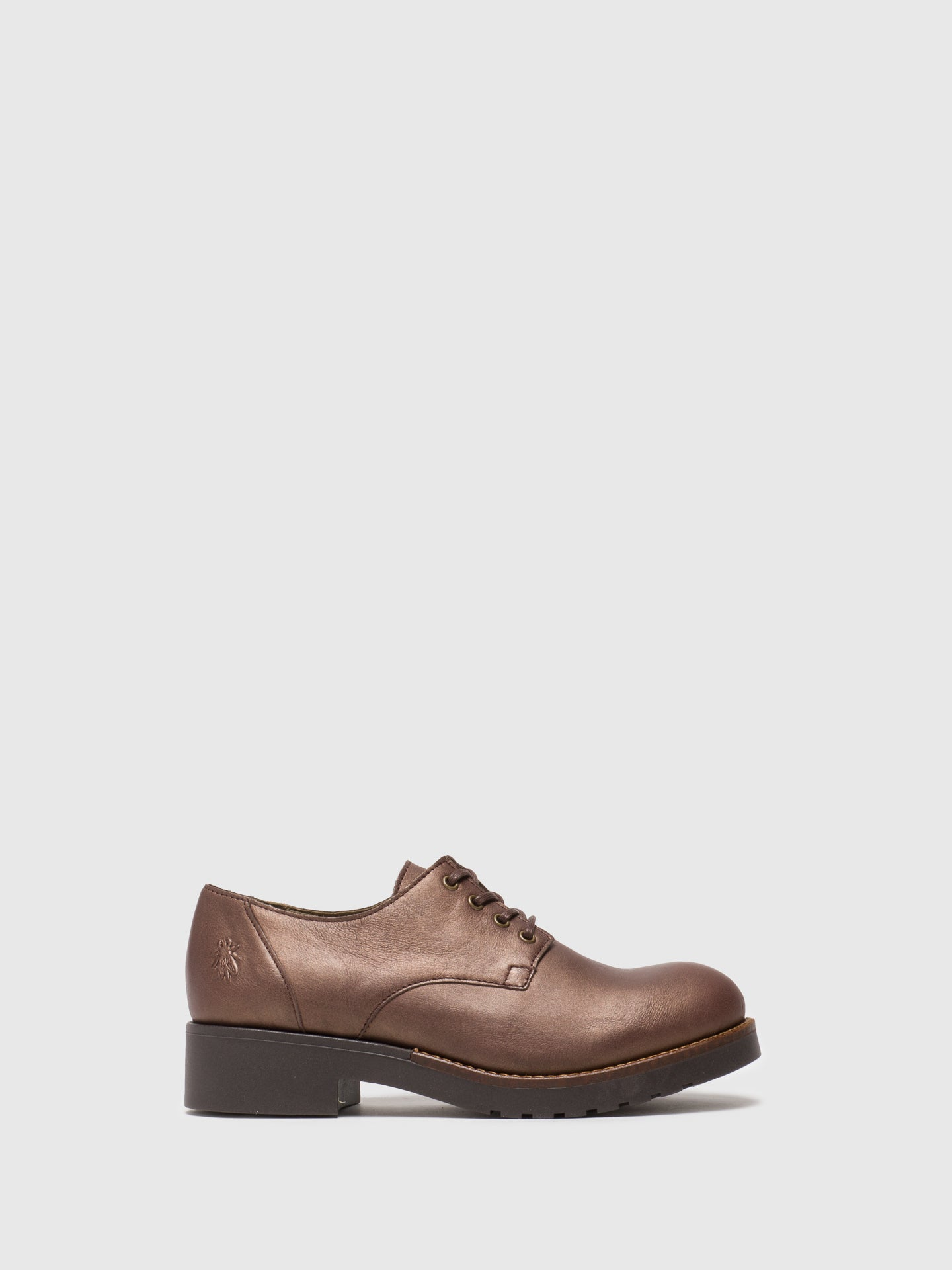 Fly London Brown Lace-up Shoes