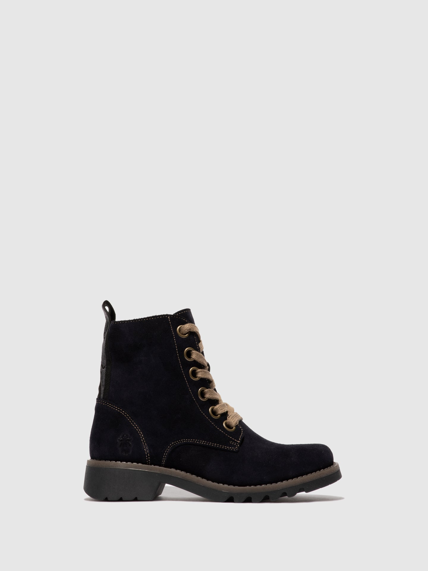 Fly London Lace-up Ankle Boots RAGI539FLY NAVY