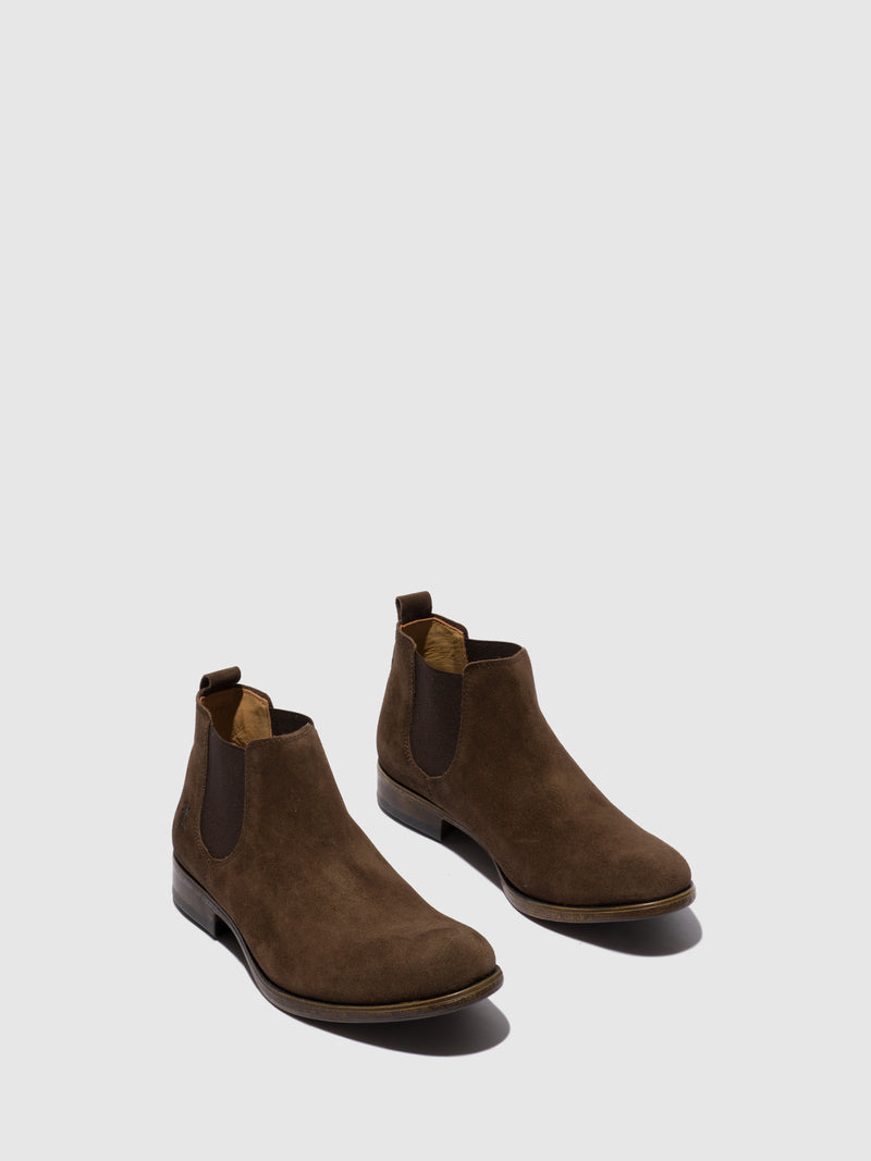 Fly London Chelsea Ankle Boots MEZO559FLY SLUDGE