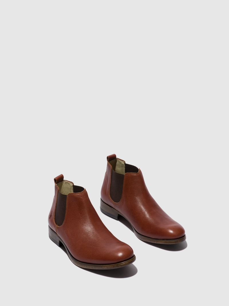 Fly London Chelsea Ankle Boots MEZO559FLY COGNAC