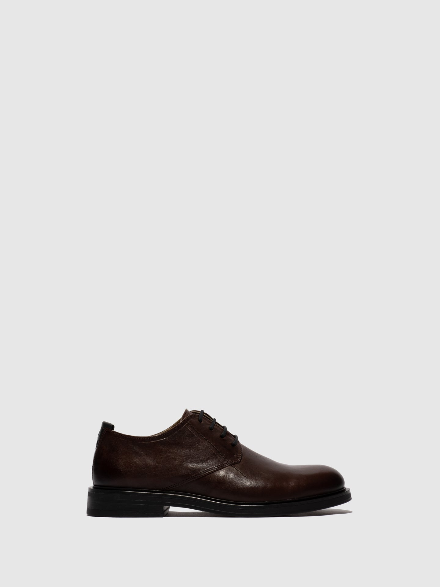 Fly London Maroon Lace-up Shoes
