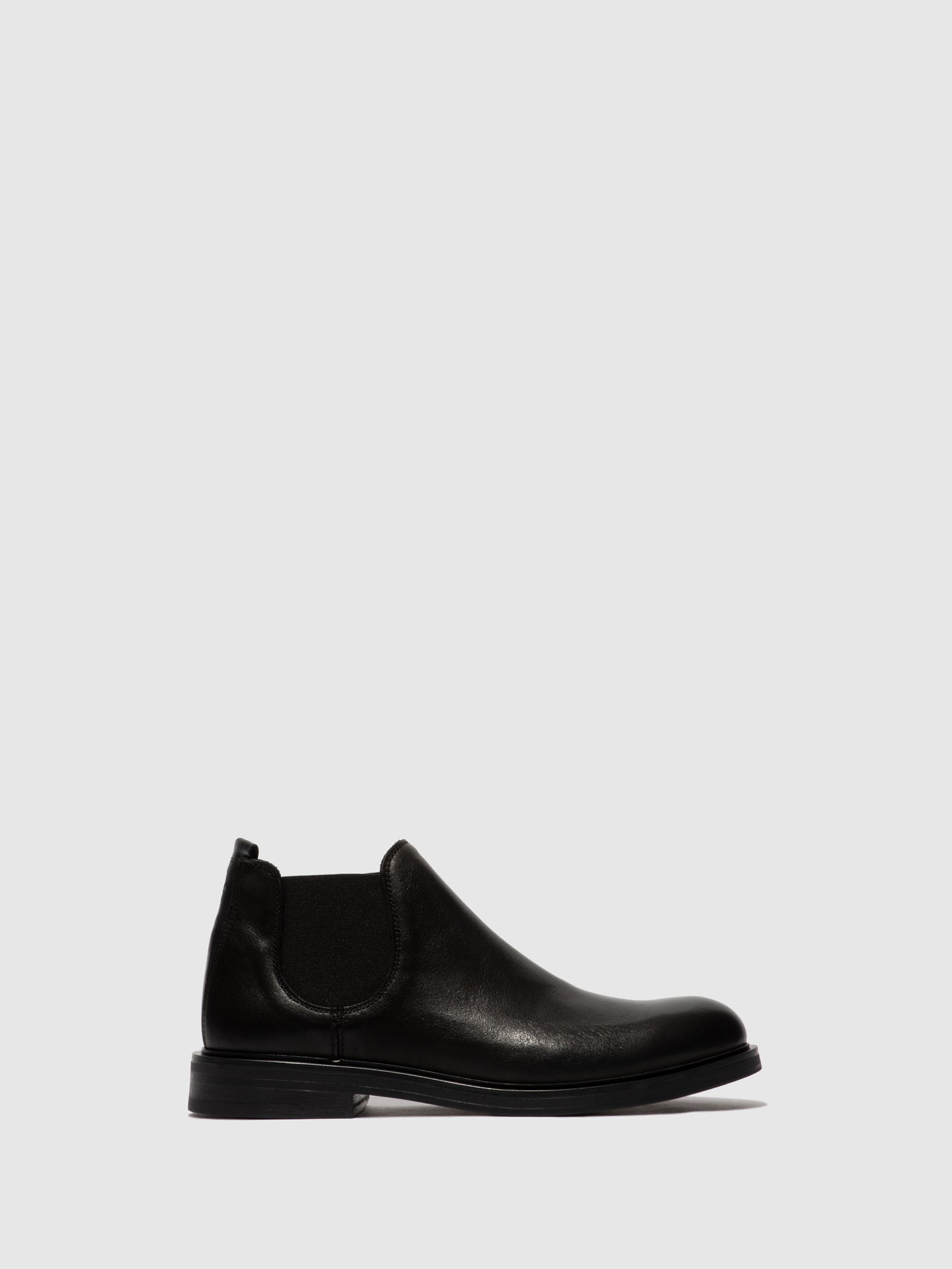 Fly London Chelsea Ankle Boots BASO600FLY BLACK/BLACK