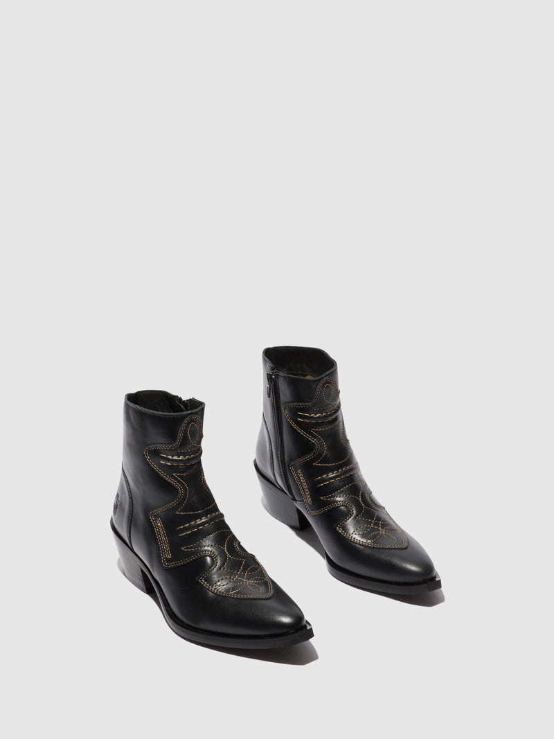 Fly London Cowboy Ankle Boots IRIN637FLY COLUMBIA WINE