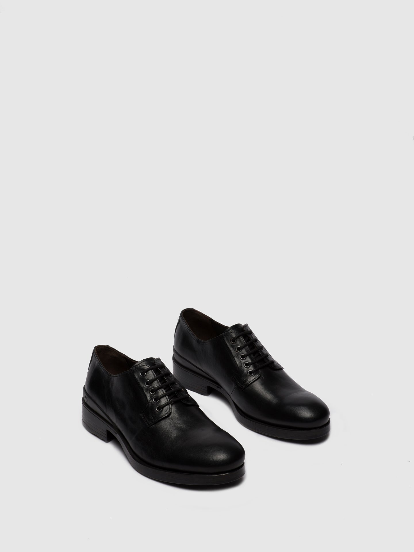 Fly London Lace-up Shoes MICK649FLY ESTIGMA(VEGETAL) BLACK