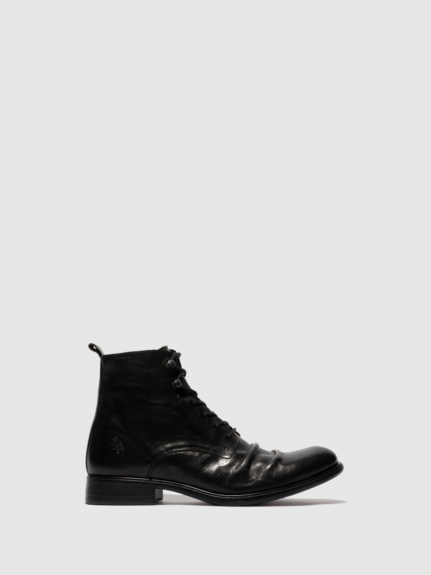 Fly London Lace-up Ankle Boots MYKE660FLY ESTIGMA(VEGETAL) BLACK