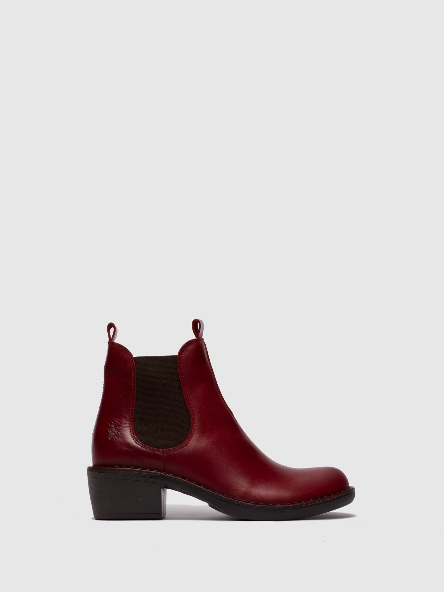 Fly London Chelsea Ankle Boots MEME030FLY RUG RED