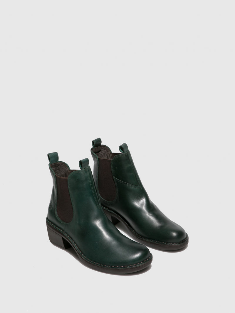 Fly London Chelsea Ankle Boots MEME030FLY RUG PETROL