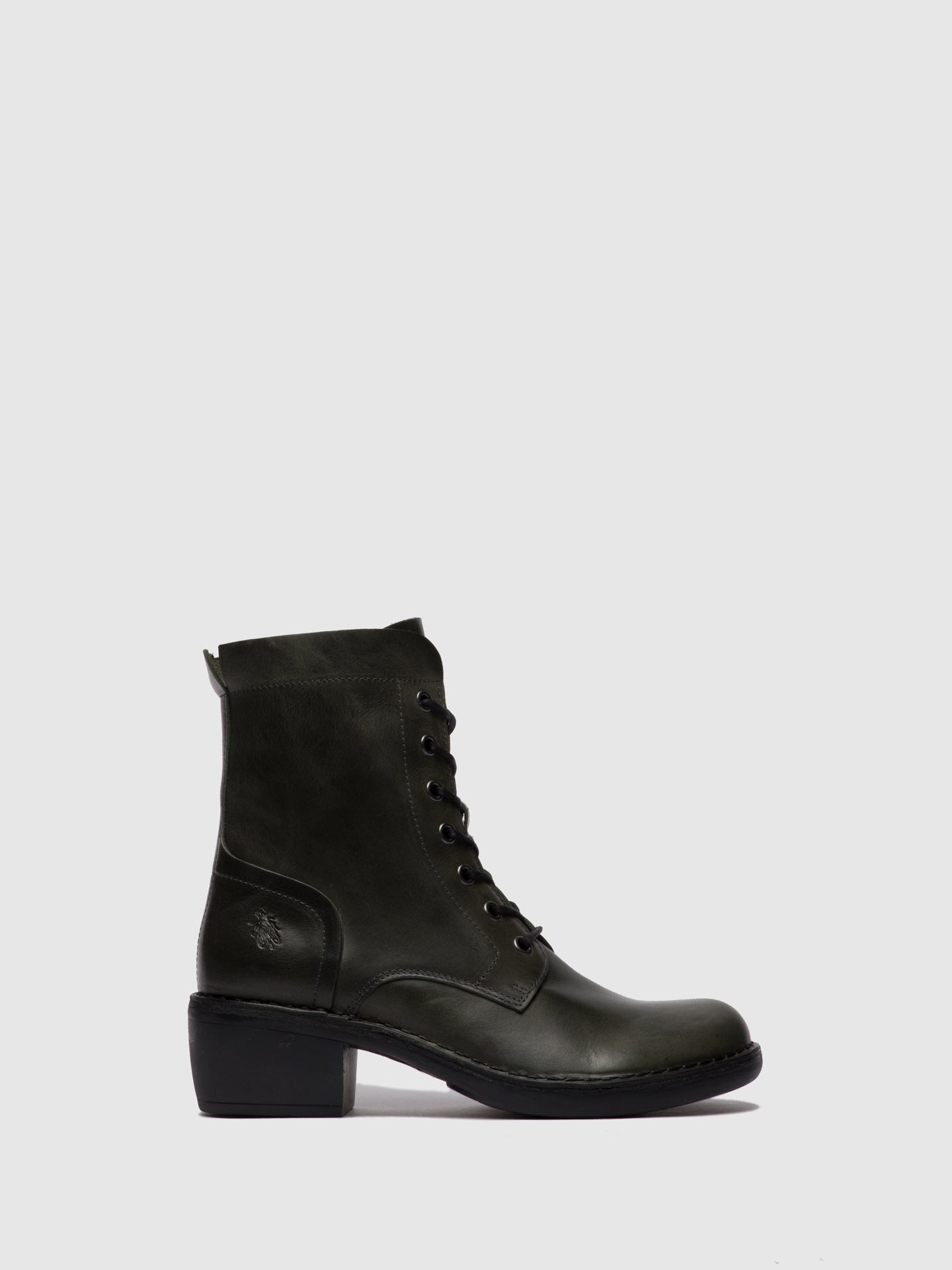 Fly London Lace-up Ankle Boots MILU044FLY RUG DIESEL