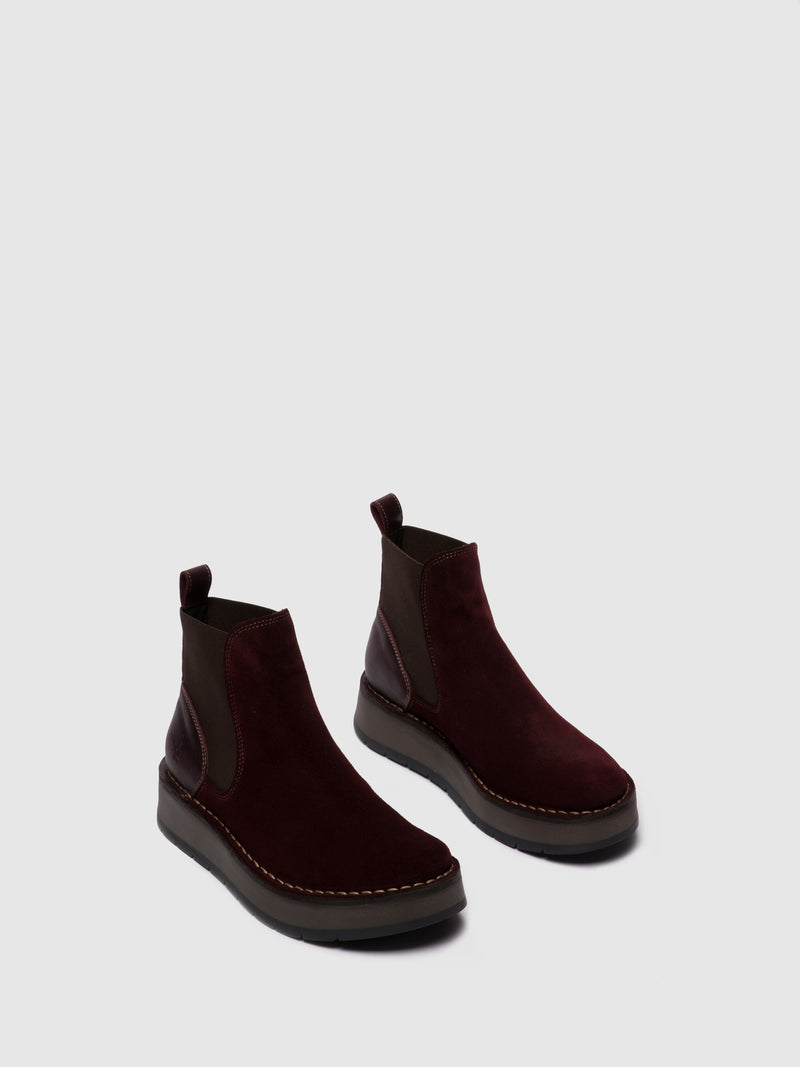 Chelsea Ankle Boots RAYA052FLY OILSUEDE/RUG WINE