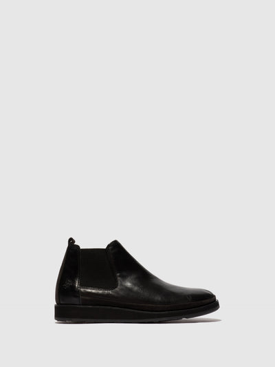Fly London Chelsea Ankle Boots JAPA692FLY ESTIGMA/OILSUEDE(VEGETAL) BLACK/DIESEL