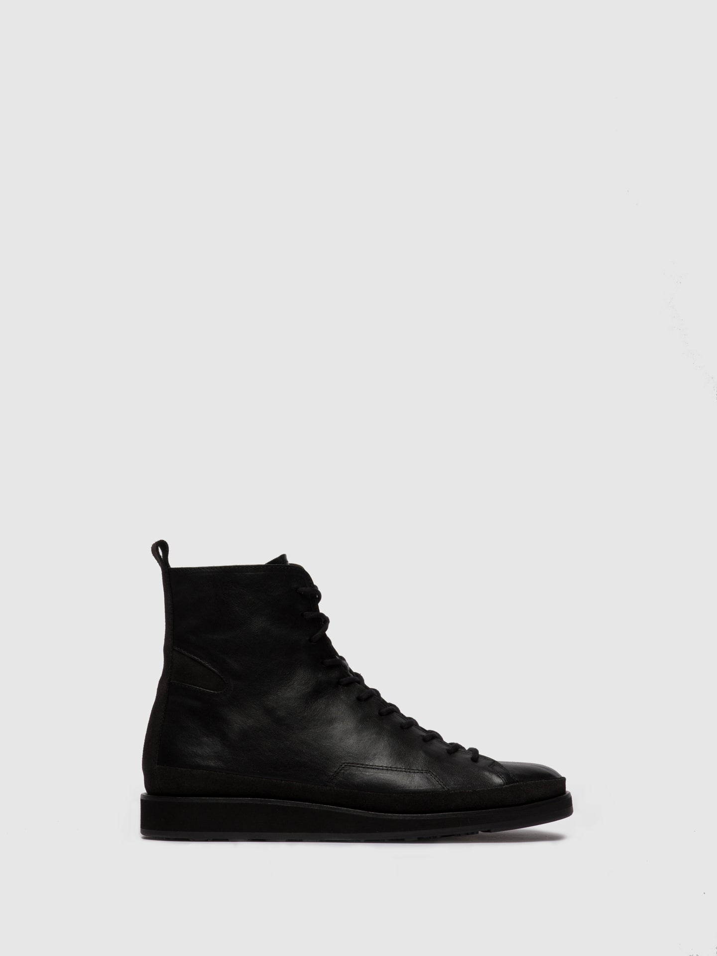 Fly London Lace-up Ankle Boots JOKA700FLY ESTIGMA/OILSUEDE(VEGETAL) BLACK/DIESEL