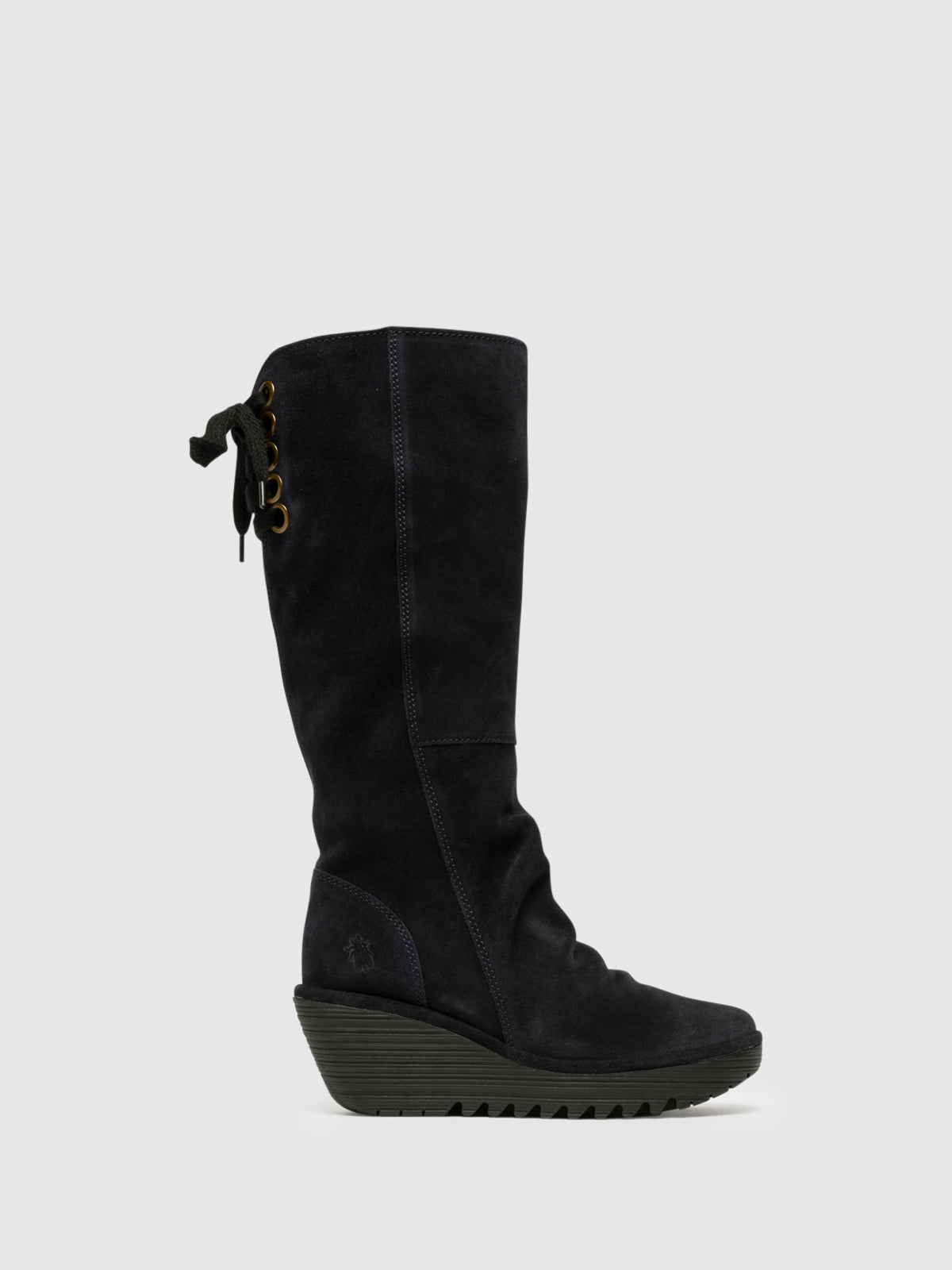 Fly London Navy Knee-High Boots