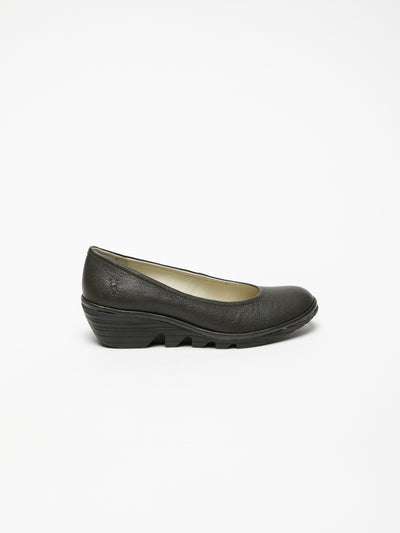 Fly London SaddleBrown Wedge Ballerinas
