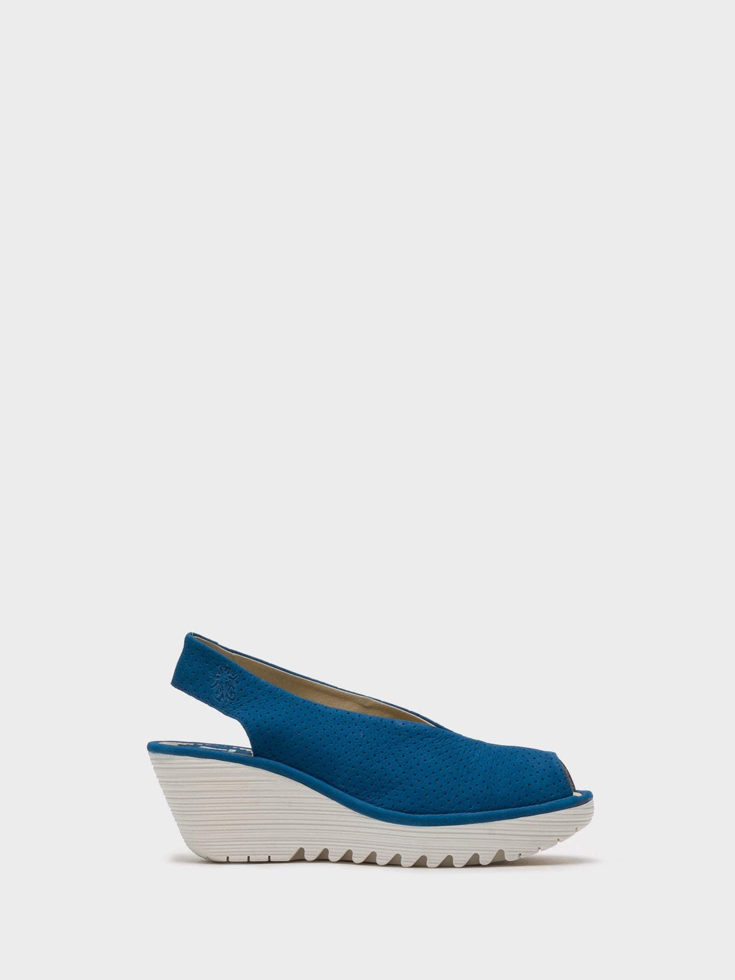 Fly London SteelBlue Sling-Back Sandals