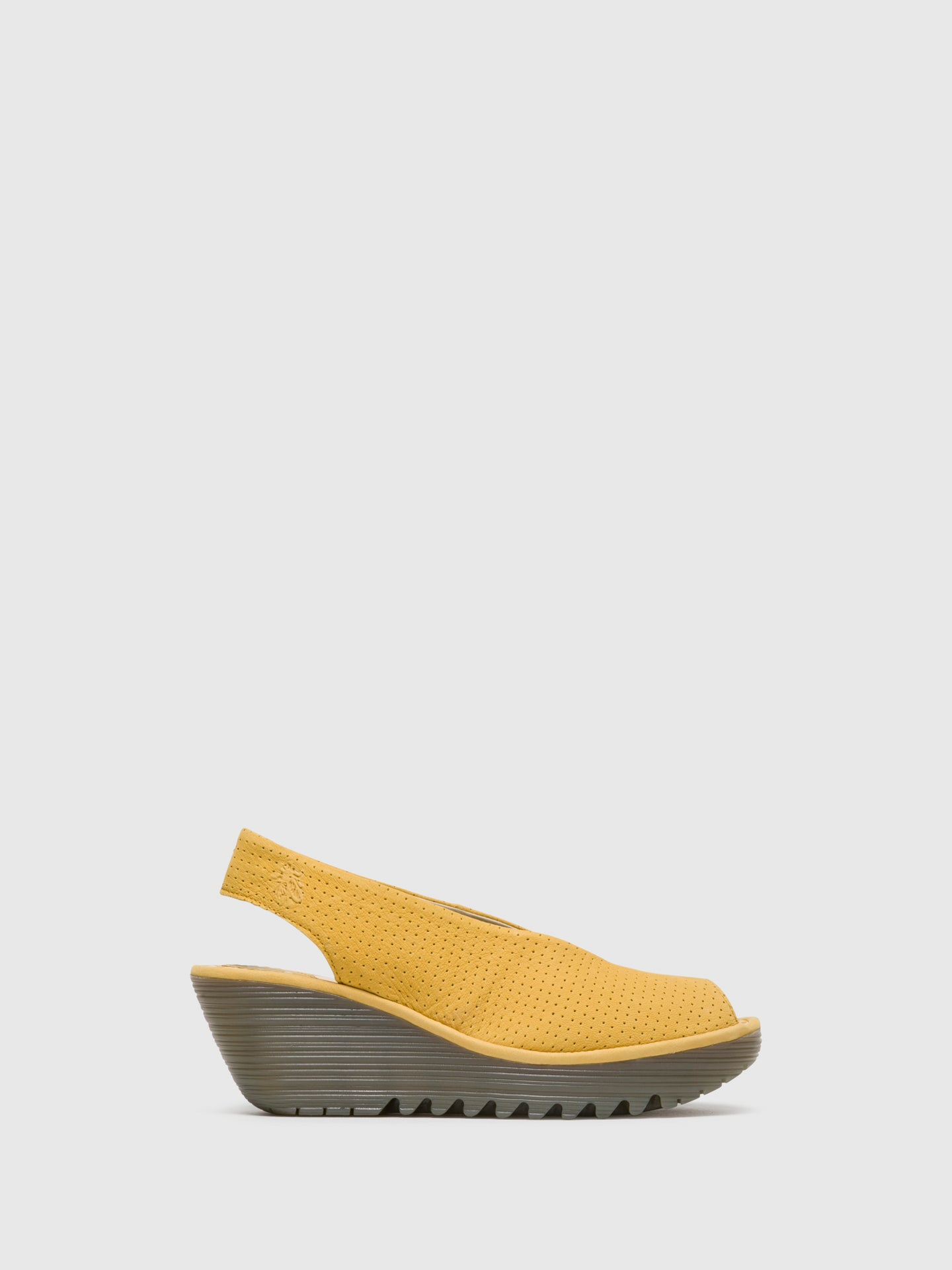 Fly London Yellow Sling-Back Sandals